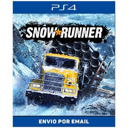 SnowRunner - Ps4 digital