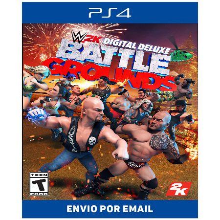 WWE 2K Battlegrounds - Ps4 Digital