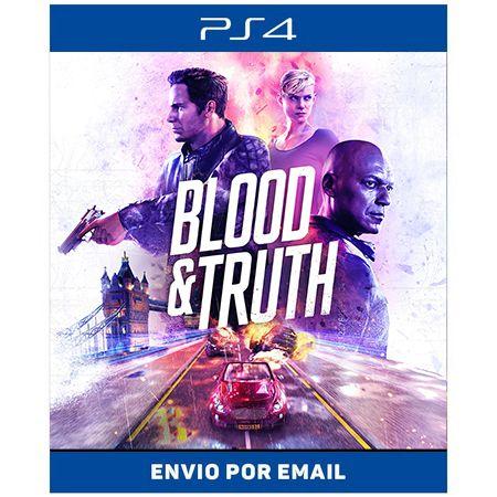Blood & Truth Vr - Ps4 Digital