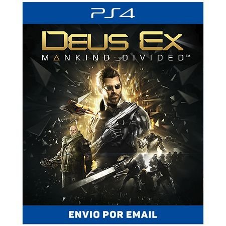 Deus Ex: Mankind Divided  - Ps4 Digital