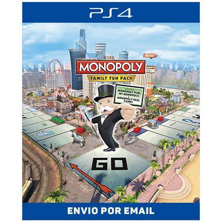 Monopoly Family Fun Pack - Ps4 Digital