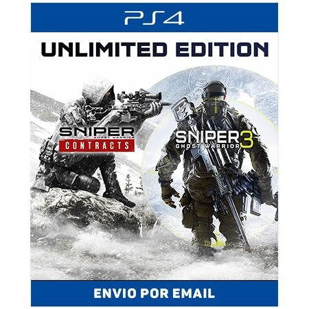 Sniper Ghost Warrior Contracts & SGW3 Unlimited Edition - Ps4 Digital