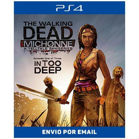 The Walking Dead: Michonne - A Telltale Miniseries - Ps4 Digital
