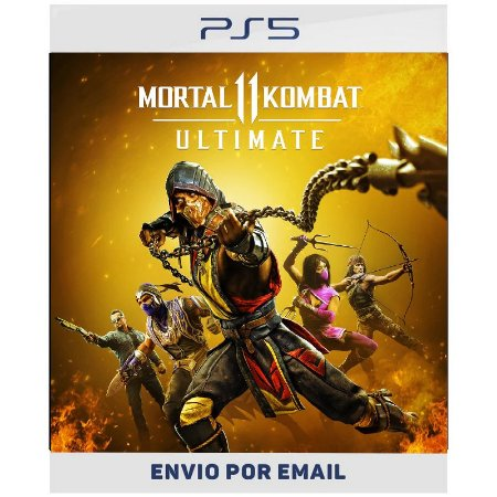 Mortal Kombat 11 Ultimate PS4 & PS5 - Ps4 Digital