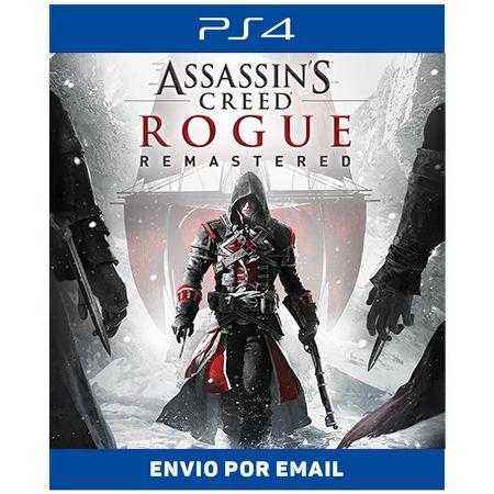 Assassin's Creed Rogue Remastered - Ps4 e Ps5 Digital