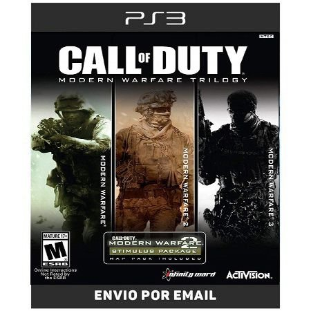 Call Of Duty Modern Warfare Trilogy - Ps3 Digital