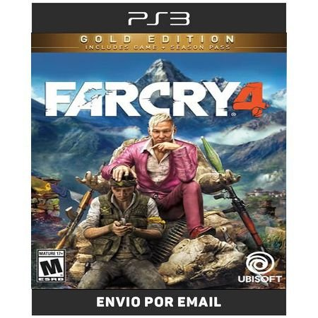 Far Cry 4 Gold Edition Inclui Todas Dlcs - Ps3 Digital