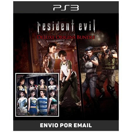 Resident Evil Origins deluxe + dlcs - 2 Jogos - Ps3  Digital