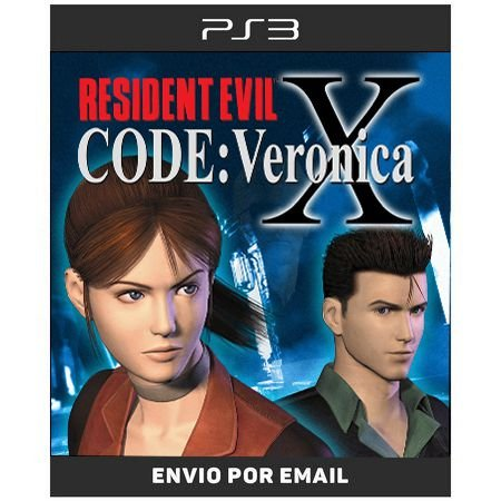 Resident Evil Code Veronica X - Ps3 Digital