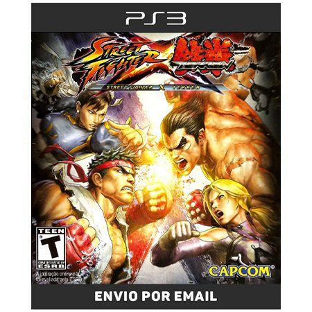 Street Fighter X Tekken - Ps3  Digital