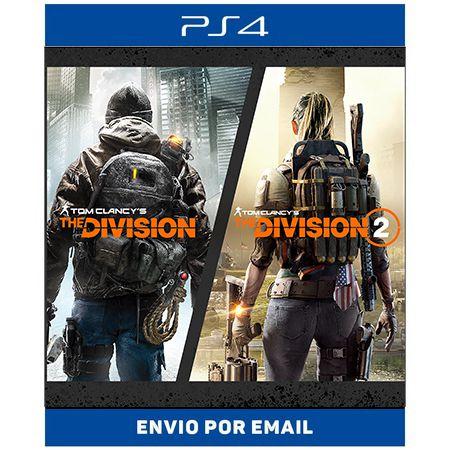Tom Clancy's The Division  Franchise Bundle - Ps4 Digital