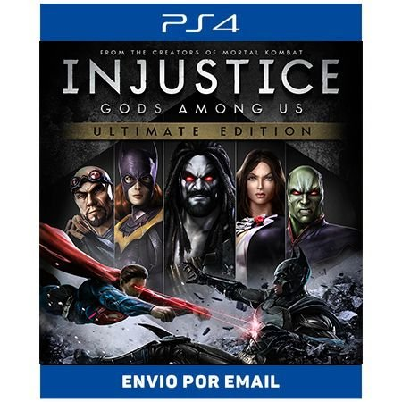 Injustice: Gods Among Us Ultimate Edition - Ps4 Digital