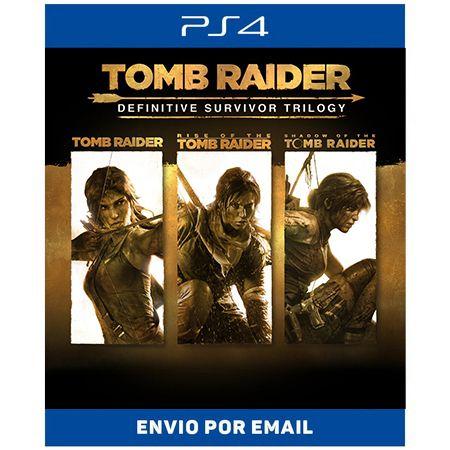 Tomb Raider: Definitive Survivor Trilogy - Ps4 Digital
