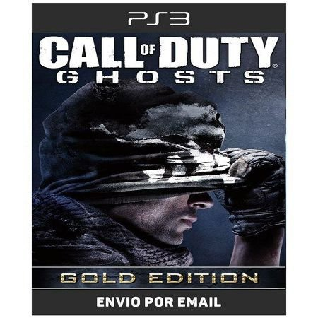 Call Of Duty Ghosts Gold Edition - Ps3 Digital