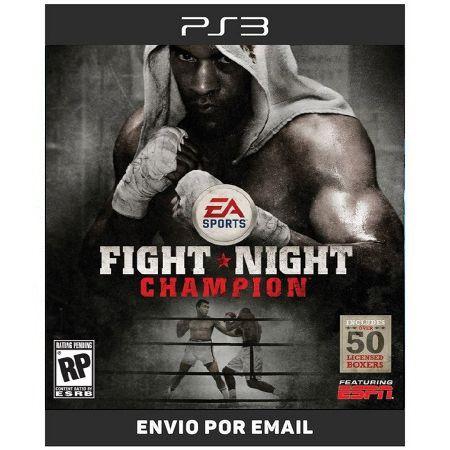 Fight Night Champion - Ps3 Digital