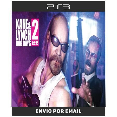Kane e Lynch 2 Dogs Days - Ps3 Digital