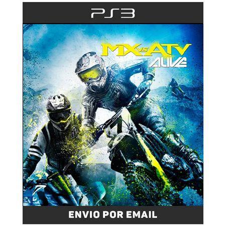 MX vs ATV Alive - Ps3 Digital