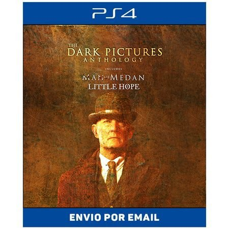Pacote The Dark Pictures Anthology Little Hope & Man of Medan - Ps4 Digital