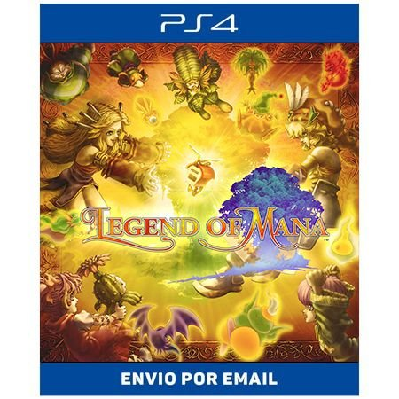 Legend of Mana - Ps4 Digital Pré-venda
