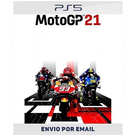 Moto GP 21 - Ps4 & Ps5 Digital Pré-venda