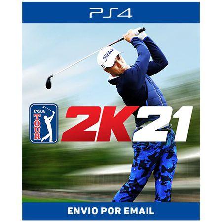 PGA TOUR 2K21 - Ps4 Digital