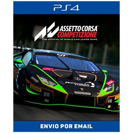 Assetto Corsa Competizione - Ps4 e Ps5 Digital