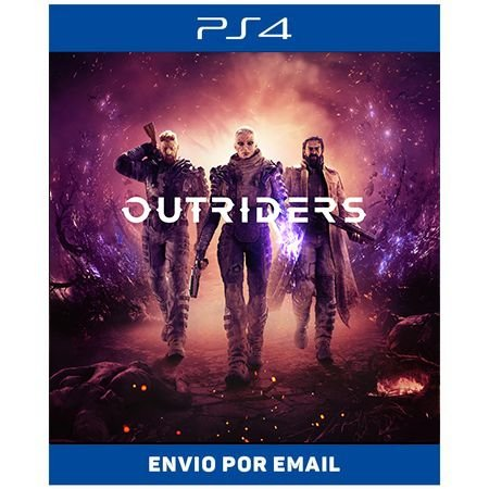 OUTRIDERS - Ps4 e Ps5 Digital