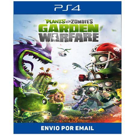 Plants vs  Zombies Garden Warfare - Ps4 Digital