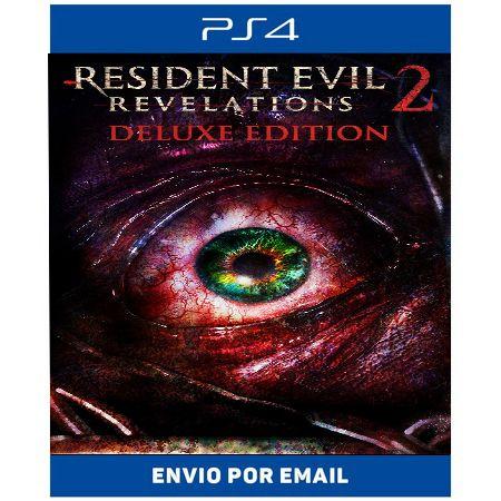 Resident Evil Revelations 2 Edição de Luxo - Ps4 Digital