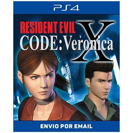 Resident Evil Code Veronica X - Ps4 Digital