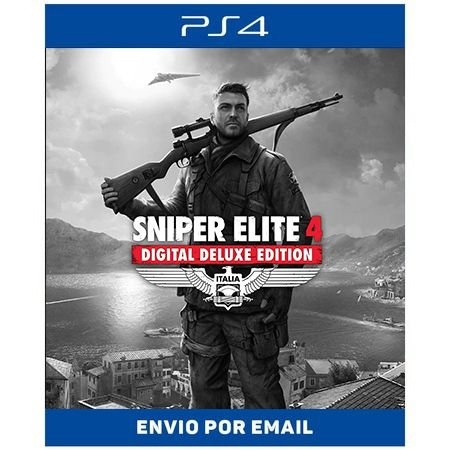 Sniper Elite 4 Deluxe Edition -  Ps4 Digital
