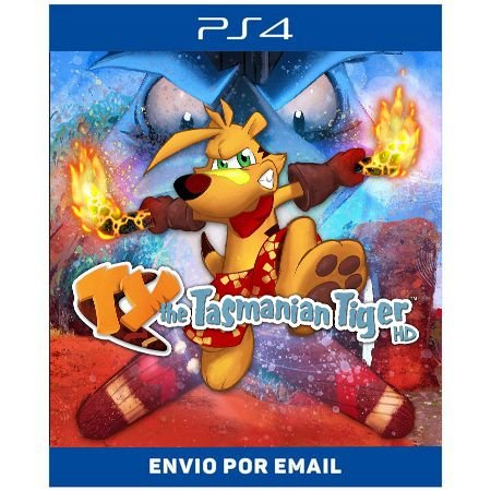 TY the Tasmanian Tiger HD - Ps4 Digital