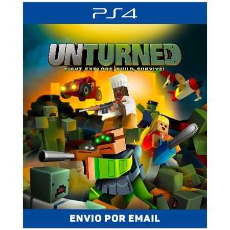 UNTURNED - Ps4 Digital