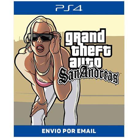 Grand Theft Auto San Andreas - Ps4 Digital