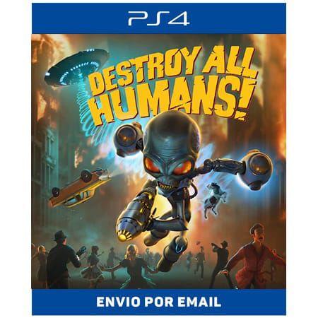 Destroy All Humans! - Ps4 Digital
