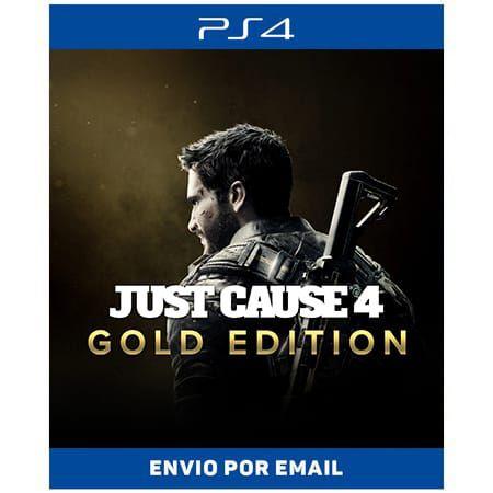 Just Cause 4 - Edição Gold - Ps4 Digital
