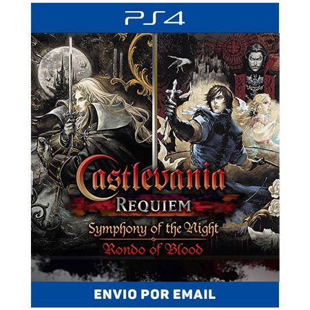 Castlevania Requiem Symphony of the Night & Rondo of Blood - Ps4 Digital