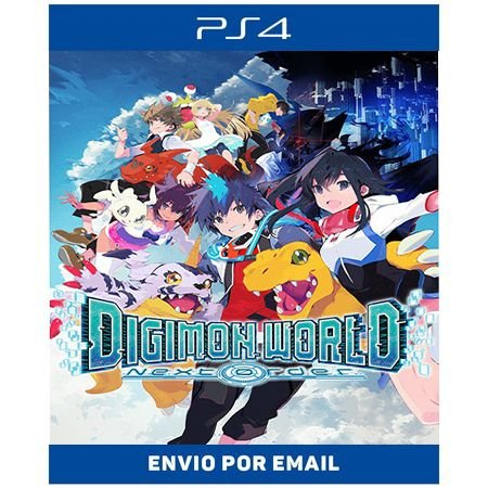 Digimon World Next Order - Ps4 Digital