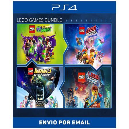 Conjunto de Jogos LEGO - Ps4