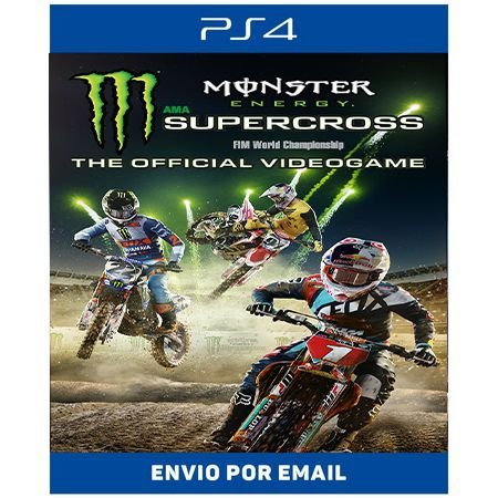 Monster Energy Supercross The Official Videogame - Ps4 Digital