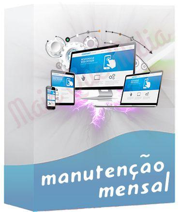 Manutenção de WebSite Mensal