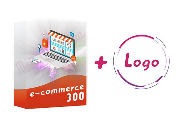 E-commerce 300 + Logo