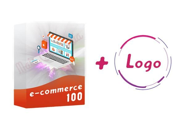 E-commerce 100 + Logo