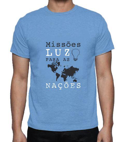 Missões, Luz Para As Nações - Camiseta
