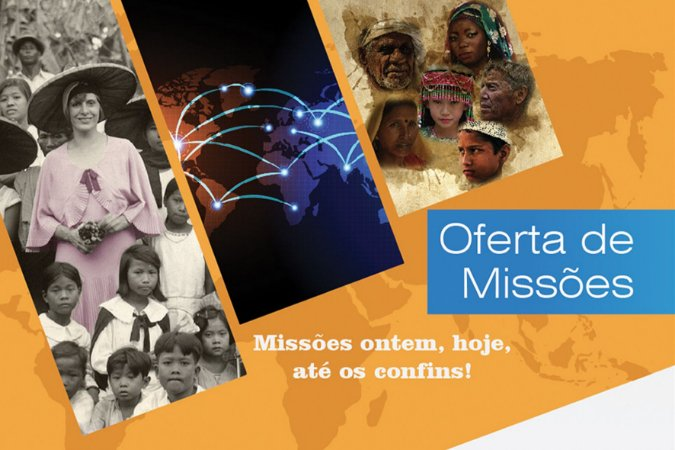 Envelope Oferta de Missões - Missões ontem, hoje, até os confins!