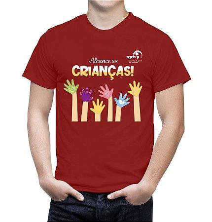 """""""Alcance as Crianças"""" - Camiseta"""