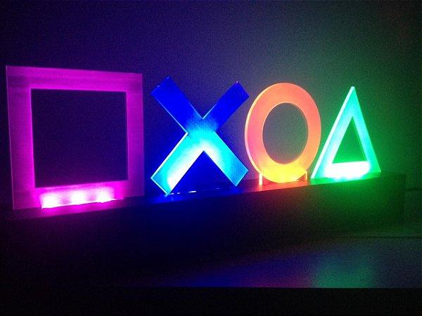 Luminária PlayStation