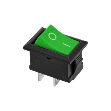 Chave KCD1-101 2 Terminais ON/OFF (Verde)