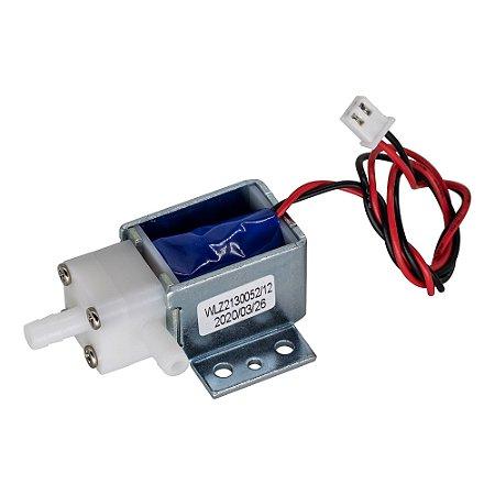Mini Válvula Solenóide (Água e Ar) 12V DC