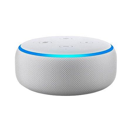 Echo Dot Smart Speaker com Alexa 3ª Geração (Branca)